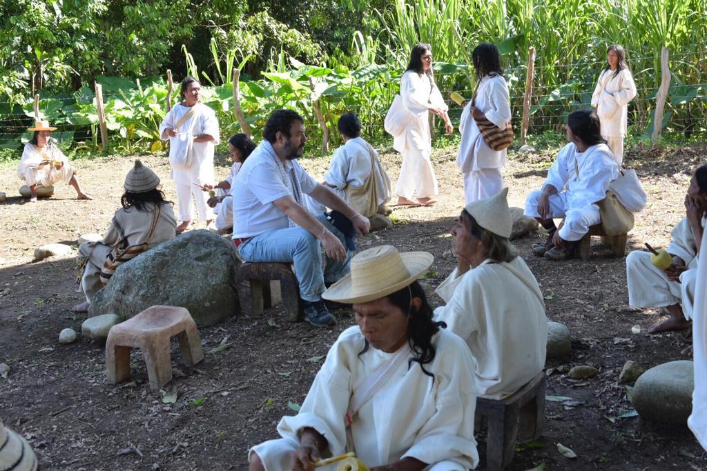 El pueblo Kogui de Colomibia. Foto: Defensoría del Pueblo.