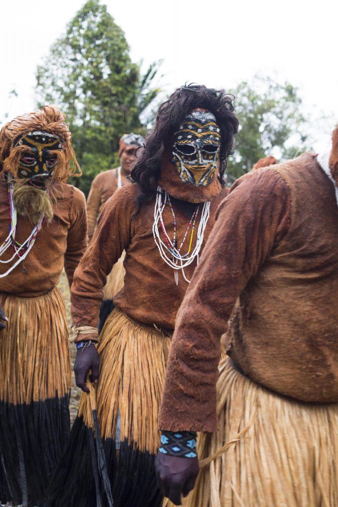 Ritual indígena. Foto: Juan Gabriel Soler, Fundación Gaia Amazonas.