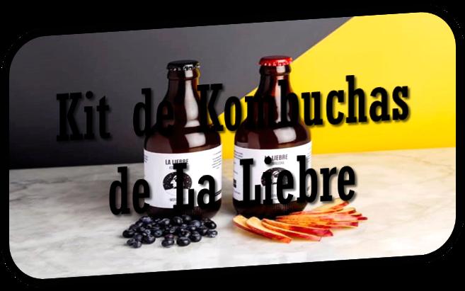 Kit de Kombuchas de La Liebre